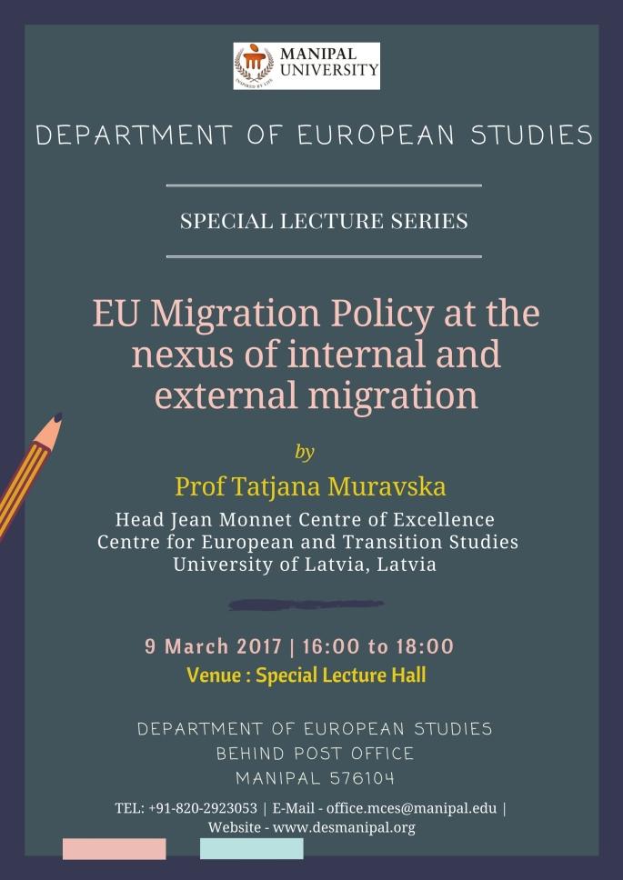 DES Special Lecture Series