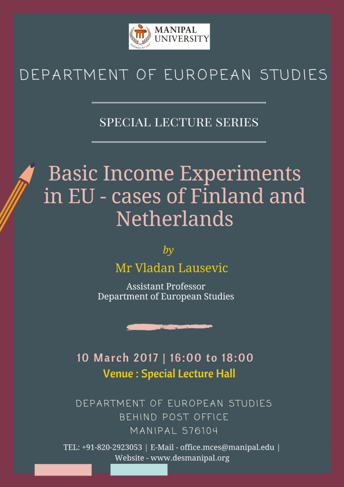 DES Special Lecture Series